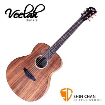 Veelah旅行吉他 mini camper 36吋旅行小吉他 MC-KOA/全KOA相思木/面單板(大小同GS Mini)附原廠袋