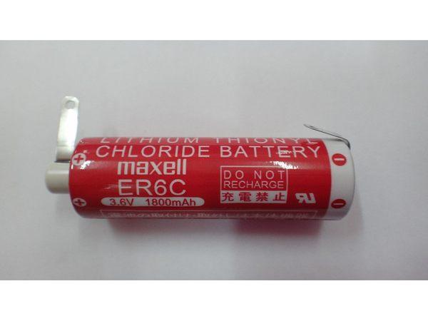 全館免運費【電池天地】PLC鋰電池 MAXELL ER6C /3.6V  1800MAH 一次性鋰電池