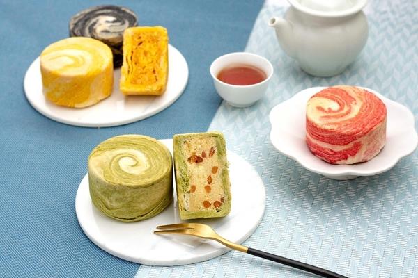 天然七彩蘇式月餅禮盒(4入)
