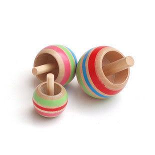 木制陀螺 兒童益智玩具/早教玩具/倒轉陀螺