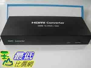 [美國直購 Shop USA] 轉換器 HDCP HDMI to VGA + SPDIF RGB Component Ypbpr Converter v1.3b $1854