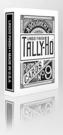 TALLY-HO WHITE ROSE V2 反白圓背 撲克牌