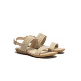 ORWARE-春夏暖心編織帶平底涼鞋651024-11米