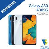 【贈原廠藍牙美拍握把+傳輸線】SAMSUNG Galaxy A30 (A305G) 4G/64G 6.4吋 智慧型手機【葳訊數位生活館】