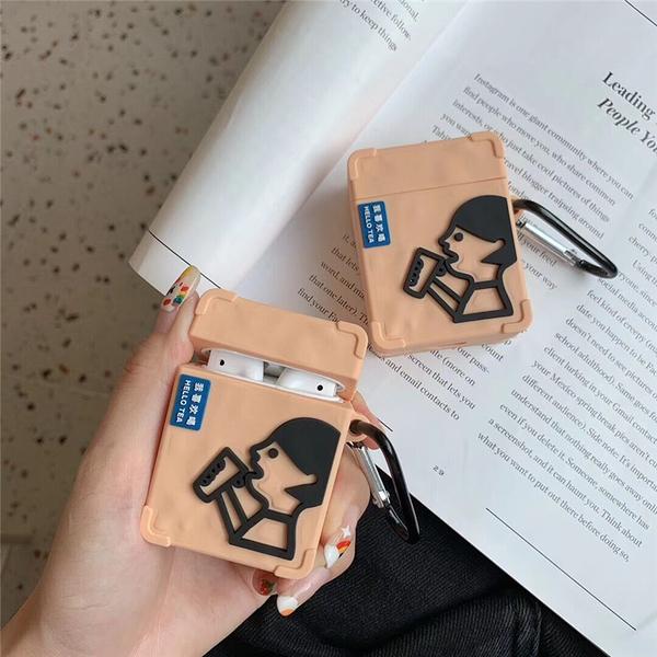 ? Airpods Pro 專用 1/2代 ??台灣發貨 [ 我愛喝茶 ] 藍芽耳機保護套 蘋果無線耳機保護