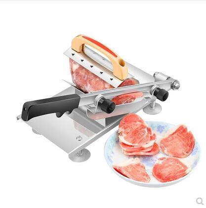 多功能牛羊肉切片機手動切肉機家用商用涮羊肉肥牛肉捲刨肉送刀片 - 古梵希