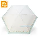 asdfkitty可愛家-帕洽狗藍水玉晴雨二用折傘/雨傘/摺疊傘/洋傘-附收納袋-日本正版商品