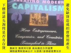 二手書博民逛書店英文原版罕見Creating Modern Capitalism