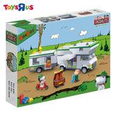 玩具反斗城 BANBAO 史努比系列 快樂露營車