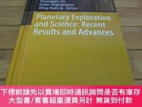 二手書博民逛書店Planetary罕見Exploration and Science: Recent Results and Ad