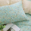 鴻宇 單人床包組 100%精梳純棉 小綠莓 台灣製C20110
