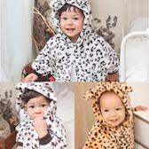 連帽斗篷 動物紋 造型披風 斗篷 外套 保暖 男寶寶 女寶寶 Augelute Baby 41320