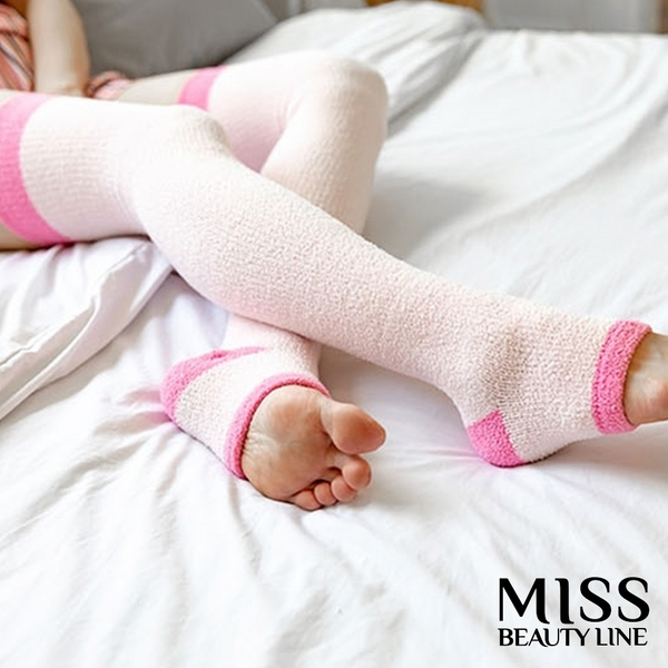 【MISS BEAUTY LINE】韓國原廠 遠紅外線/陶瓷纖維美雕襪 -夜間美雕暖香睡眠型