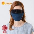 UV100 防曬 抗UV-涼感透氣護眼口罩-附濾片