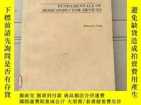二手書博民逛書店fundamentals罕見of semiconductor devices(P2112)Y173412