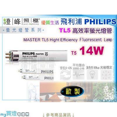 【PHILIPS飛利浦】燈管 T5.14W TL5高效率三波長省電燈管 歐洲製【燈峰照極my買燈】