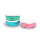 【VIIDA 】-Souffle-抗菌不鏽鋼兒童餐碗 (五色可選)