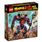 80010【LEGO 樂高積木】悟空小俠系列 Monkie Kid - 牛魔王烈火機甲 (1051pcs)