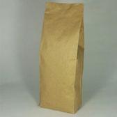 東尚咖啡袋FK1000+V 1kg牛皮紙袋夾邊合掌封袋=50個/盒(有氣閥)