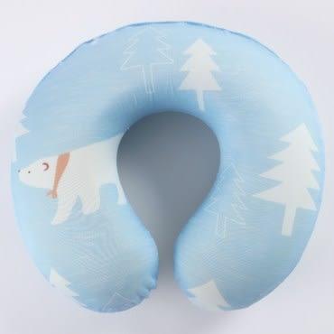 北極熊Cool涼記憶頸枕 T-620-1 32x30x9cm