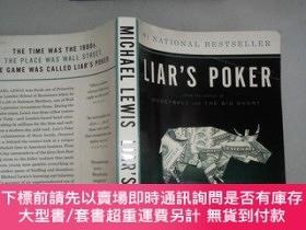 二手書博民逛書店Liar s罕見Poker 老千騙局:華爾街的投資遊戲Y206421 Michael Lewis(邁克爾·劉易