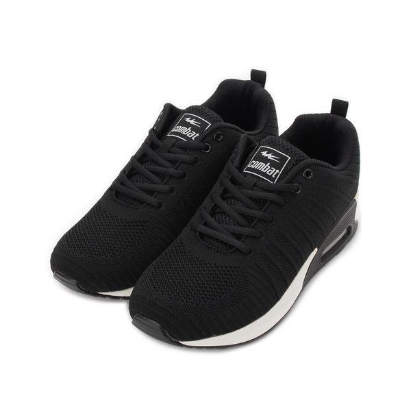 COMBAT 網布氣墊運動鞋 黑 22553 男鞋 鞋全家福