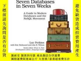 二手書博民逛書店Seven罕見Databases In Seven WeeksY364682 Luc Perkins Prag