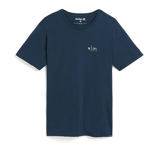 Hurley M PRM SZ WAILEHUA WATERMARK 恤-藍