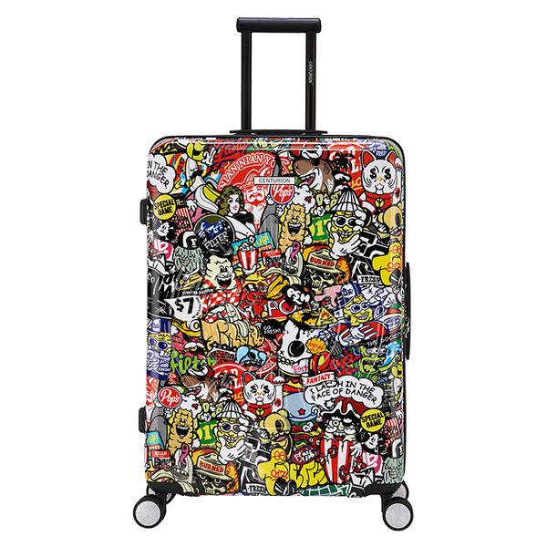 【CENTURION百夫長】拉鍊款29吋U_O_U11繽紛派對行李箱