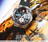 【時間玩家】CASIO 福爾摩斯-樂活自由自在 多功能休閒取向--(膠帶/黑) 手錶 AQ-190W-1AVDF