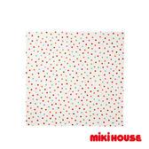 MIKI HOUSE BABY 日本製 繽紛點點多用途雙層紗布巾(粉紅)