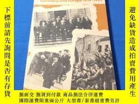 二手書博民逛書店Germany罕見and Europe 1919-1939,