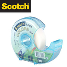 促銷價 3M 810D-3/4 Scotch® 隱形膠帶 (19mmx32.9m)-附輕便膠台 /個