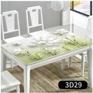 桌布防水防燙防油免洗網紅3d餐桌pvc歐式家用茶幾長方形臺布桌墊