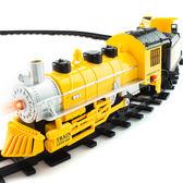 派藝兒童軌道火車軌道車搭載回力工程車電動軌道玩具兒童火車模型