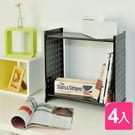 【H&R安室家】貴族風延伸式組合書櫃(雜...