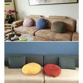 日式蓬軟太鼓抱枕靠枕 舒適懶人沙發抱枕家居枕頭午休靠墊腰枕 最後一天8折