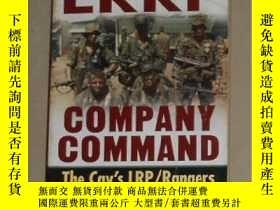 二手書博民逛書店英文原版罕見LRRP Company Command by Kr
