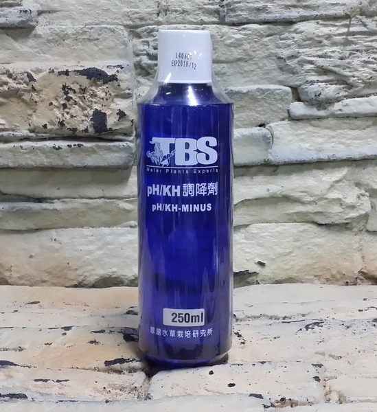 【西高地水族坊】翠湖TBS PH/KH調降劑250ml新包裝