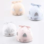 初生寶寶帽 小貓咪胎帽 新生嬰兒帽 套頭帽 DL25825 好娃娃