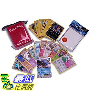 [美國直購] 神奇寶貝 精靈寶可夢周邊 Pokemon Starter Kit with One (1) EX Card + 10 Holo Foils + 50 Commons!
