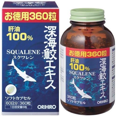 日本【ORIHIRO】深海魚肝油60日份 360粒