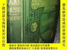 二手書博民逛書店BLEAK罕見HOUSE 含61副F. BARNARD 精美插圖