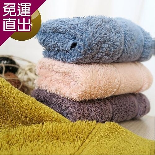 HKIL-巾專家 簡約歐風蓬鬆加厚款純棉毛巾 3入組【免運直出】