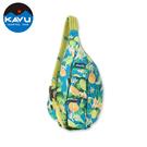 【西雅圖 KAVU】Rope Sling 休閒時尚肩背包 海洋柑橘 #944
