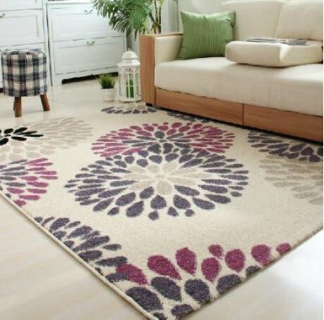 短毛地毯 舒適混紡彎頭紗機織160*230cm【藍星居家】
