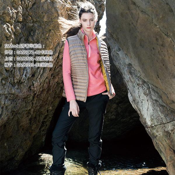 Wildland 荒野 0A52393-48深墨綠 女RE超彈性時尚保暖褲 彈性快乾機能褲/修身剪裁/運動休閒褲