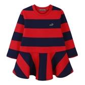『小鱷魚童裝』條紋洋裝(02號~08號)534392