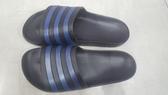 Adidas 男女款黑藍色涼拖鞋-NO.F35532