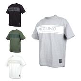 MIZUNO 男1906系列短袖T恤(免運 台灣製 休閒 慢跑 美津濃≡排汗專家≡